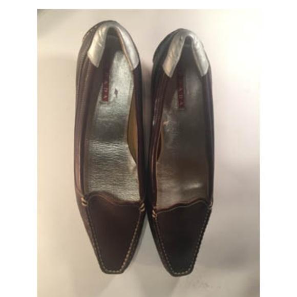 685d013a287  SALE  Kitten Heel Prada Shoes (S 38   8 U. S.)